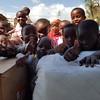 Children at Elimaa School in Kwa Morombo. Photo by Patti Austin