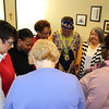 Prayers for staff traveling to Tanzania for WBGC travel seminar.