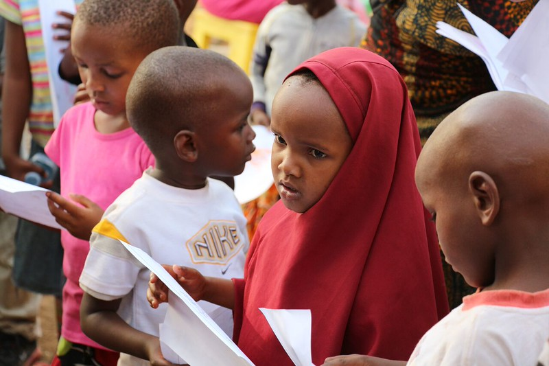 Students at Elimaa school. Photo by Brenda Kimaro