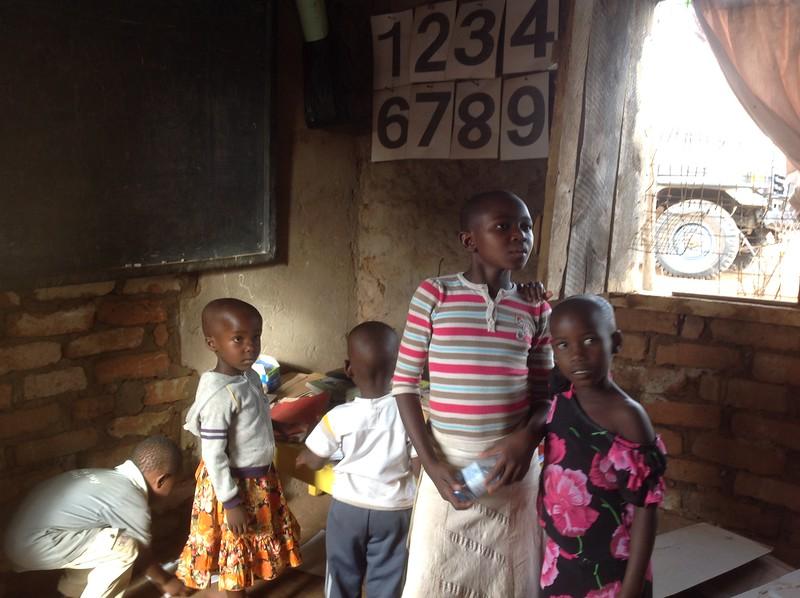 Students at Elimaa School in Kwa Moromgo. Photo by Eva J Yeo.