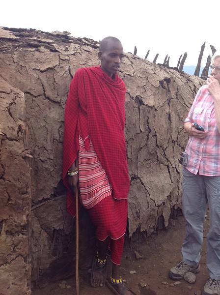 One of the Maasi host. Photo by Eva J Yeo