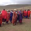 A Maasai welcome dance. Photo by Eva J Yeo