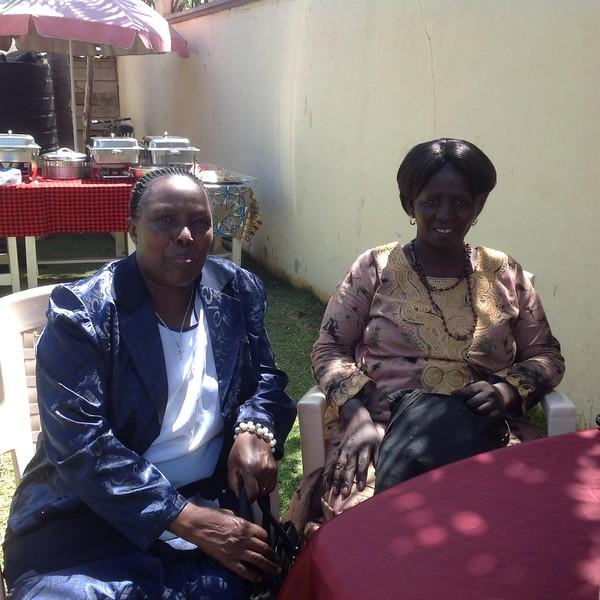 Ndefisio Pallangyo and Mary Eliakimu Laizer. Photo by Eva J Yeo