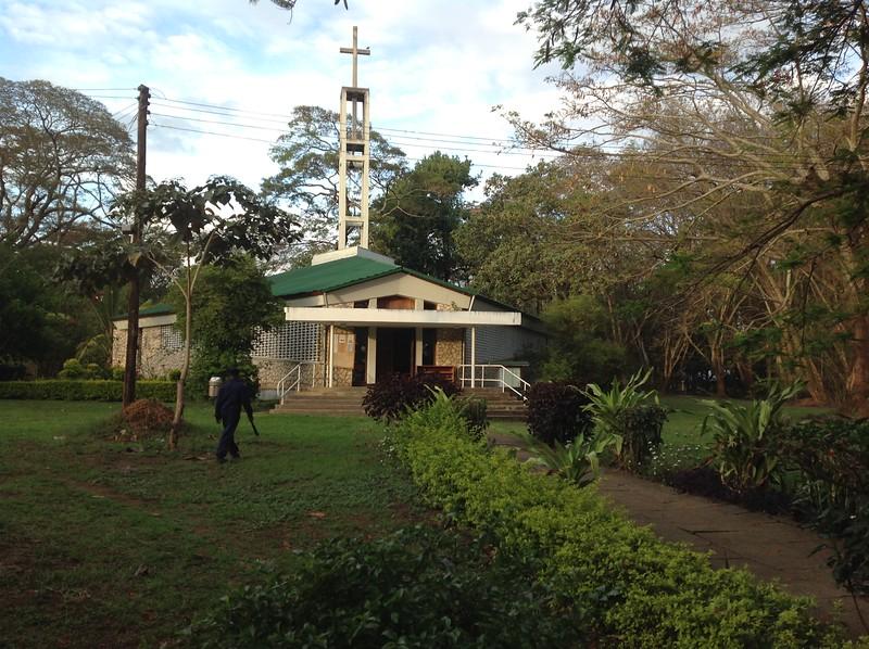 The chapel at Makumira Seminary campus. Photos by Eva J Yeo