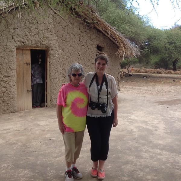 Nancy Norberg and Shelby Morgan .Photo by Eva J Yeo