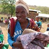 LWR quilt and kit distribution. Photo by Brenda Kimaro