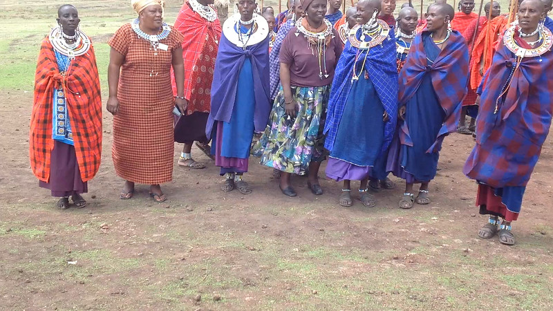 A welcome by the Maasi community. Video by Eva J Yeo