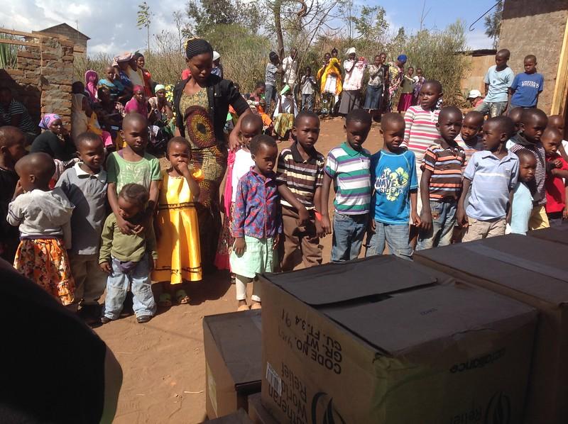 Students of Elimaa school in Kwa Morombo. Photo by Eva J Yeo