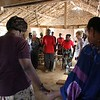 LWR project visit and prayer. Photo by Brenda Kimaro