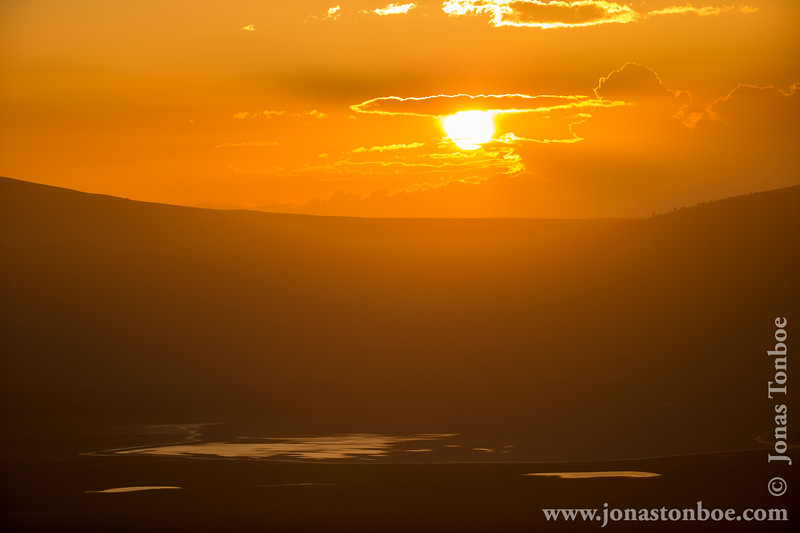 Sunset Over Ngorongoro Crater