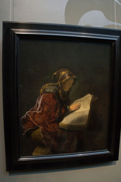 Another favorite Rembrandt. He seems to anticipate optics.