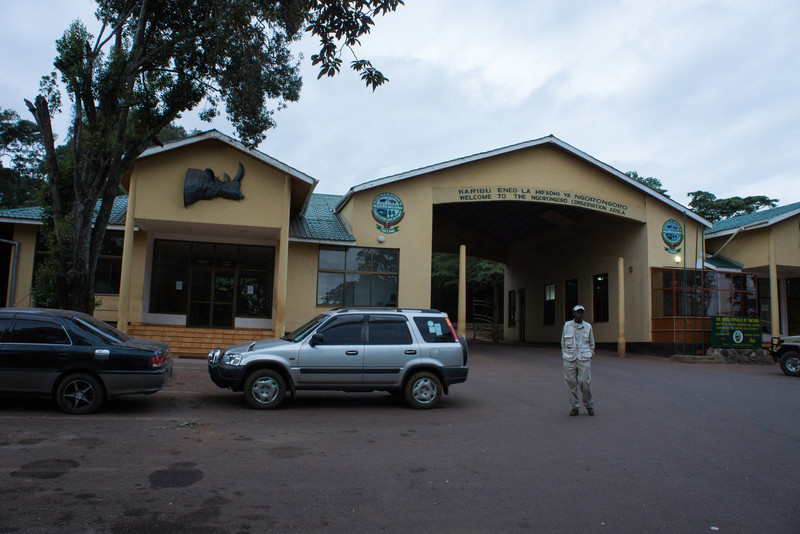 Entrance to Ngorongoro Crater