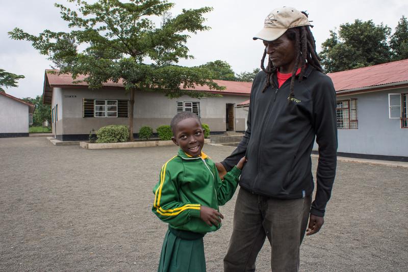 Kapanya and daughter.