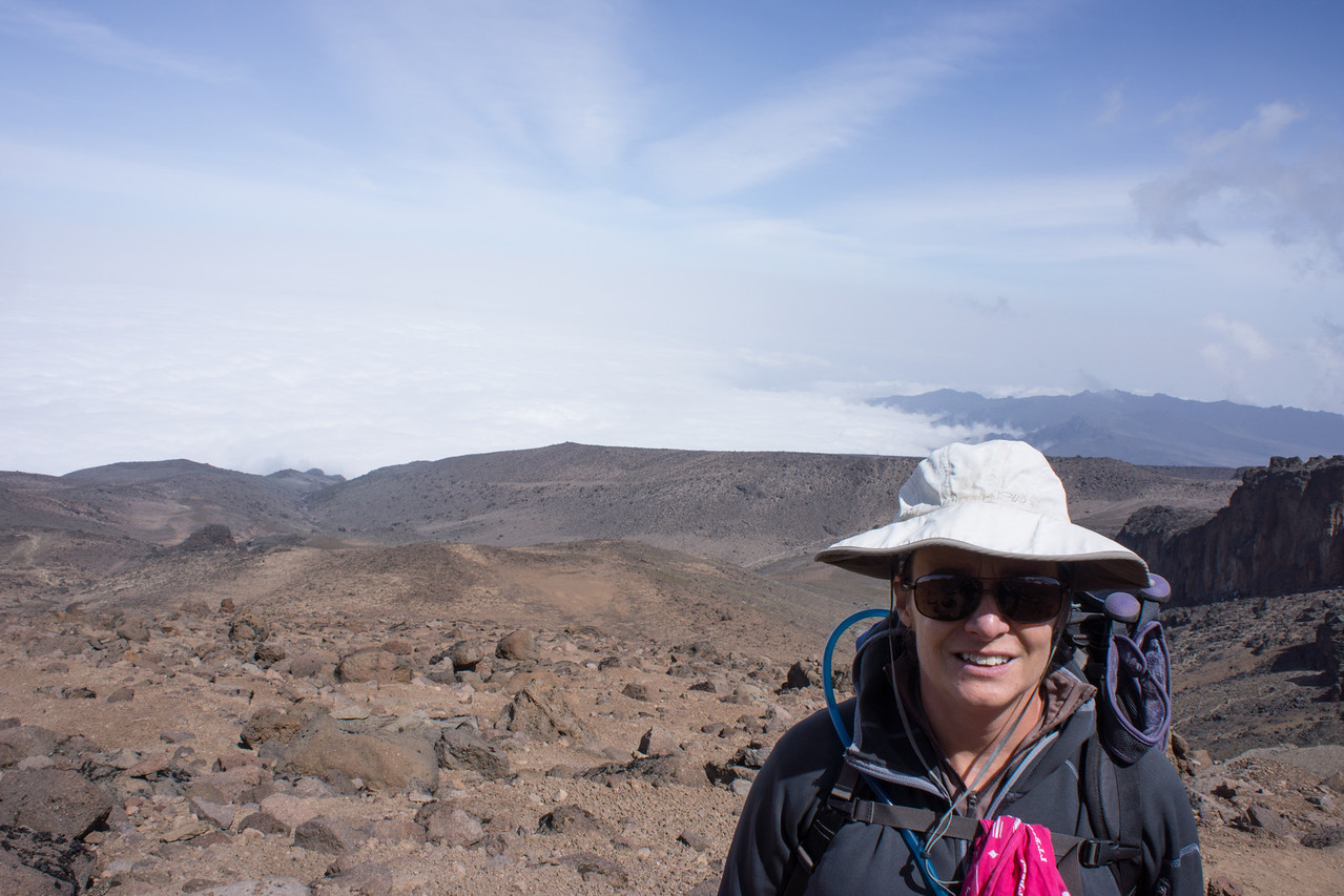 Lisa above Lava Tower.
