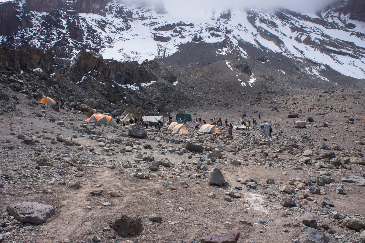 Arrow Glacier Camp.