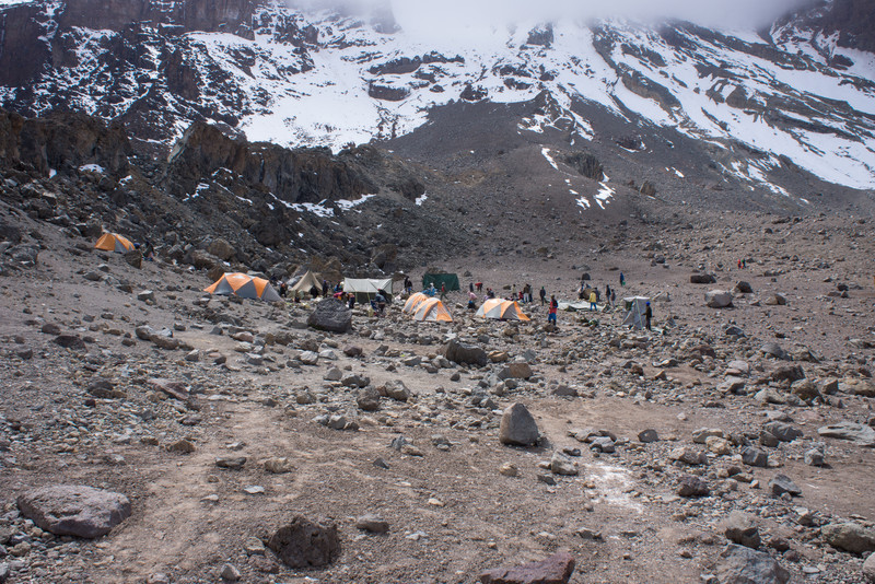 Arrow Glacier Camp.