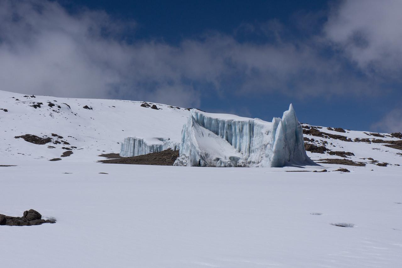 A piece of the Furtwangler Glacier.