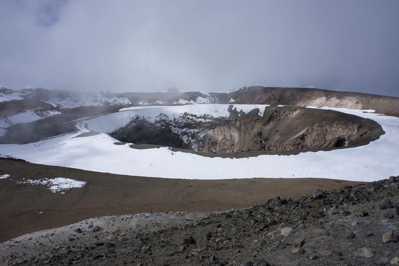 The ash pit.