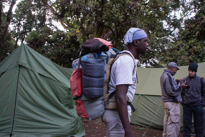 Nuru in Forest Camp.