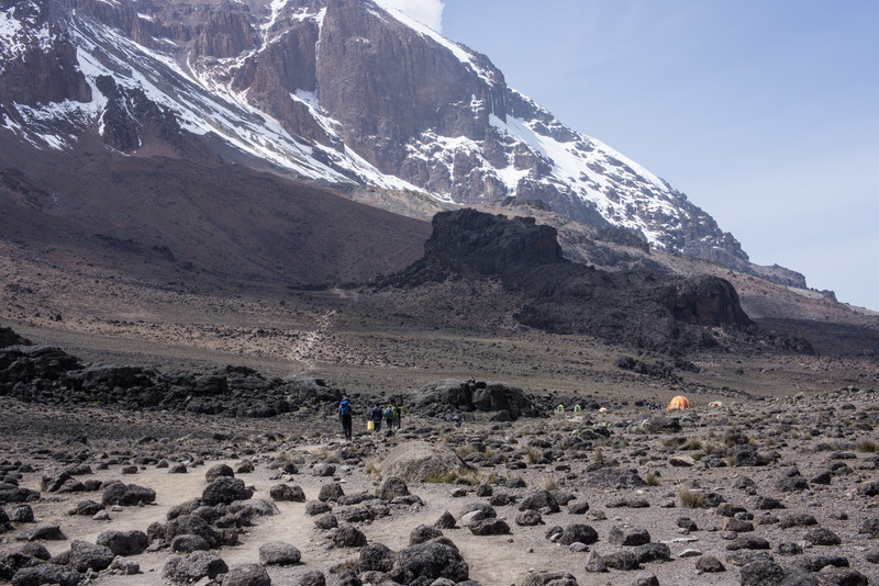 There's Lava Tower. Camp is just beyond it, not the tents in the foreground.