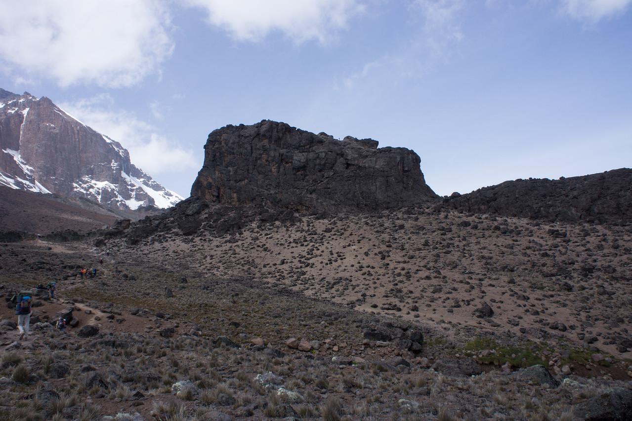Walking towards Lava Tower.