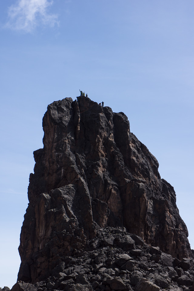 Our group on top of Lava Tower. I didn't climb it because I had a nosebleed.
