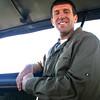 Gary on the safari drive