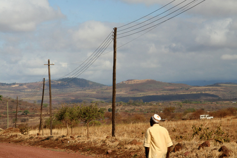 Road to the Ngorongoro Crater