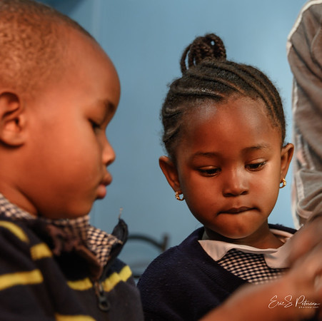 We visited Bethleham Orphange where Mama takes care of many children, most orphaned by Aids.