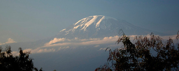 Mt. Kilimanjaro from the Springlands Hotel (Moshi, Tanzania) 2007-09-29