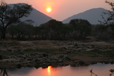 Sunrise over the Great Ruaha