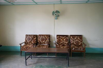Tabora airport lounge
