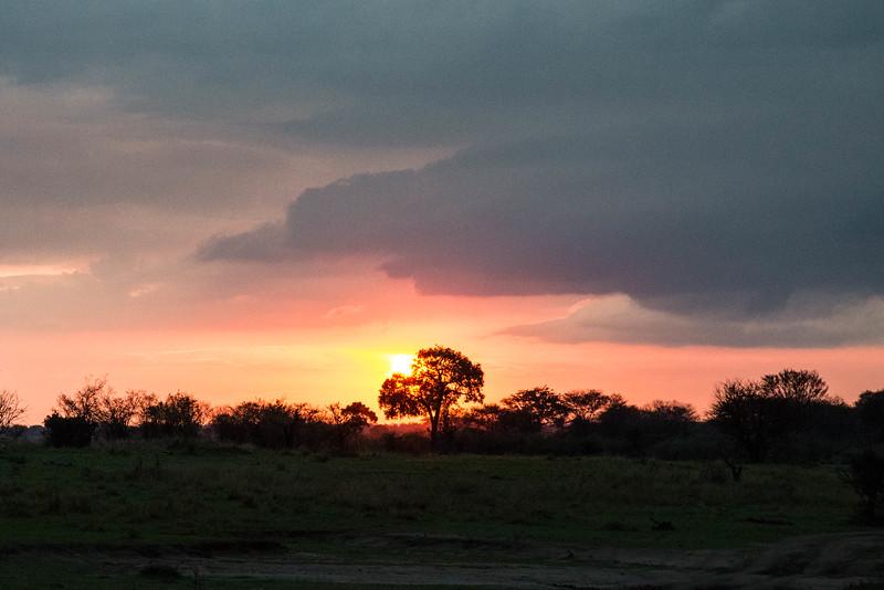 Sunset - Northern Serengeti