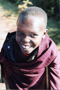 Maasai girl - Ngorongoro Crater.