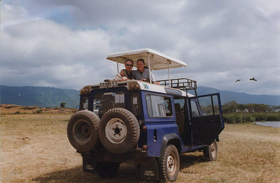 "Our ""wheels"" on safari."