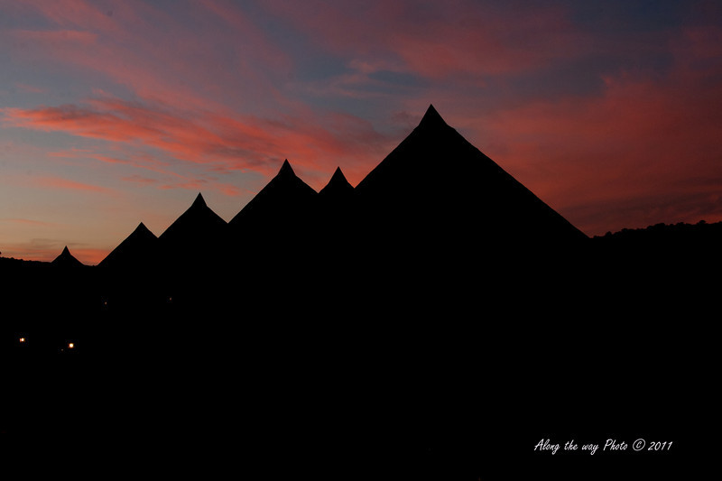 Scenery 153<br /> sunset at Serena Lodge by the Ngorongoro Crater in Tanzania