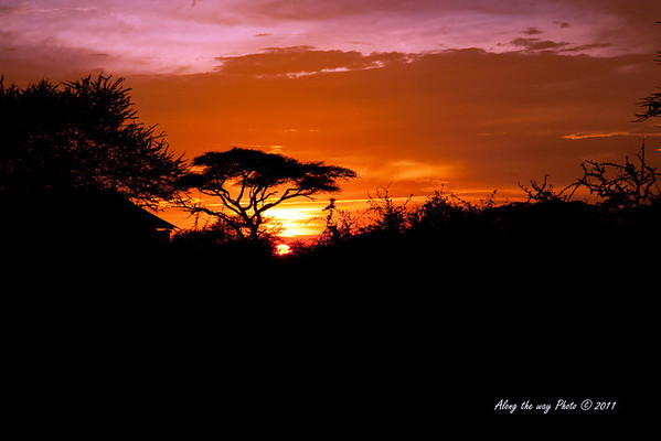 Sunset 60<br /> Sunset over by Lake Masek in the Serengeti