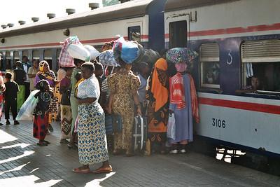 Tazara train - it's a 10h journey to Ifakara