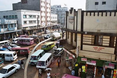 Dalla dalla station in Dar-es-Salaam