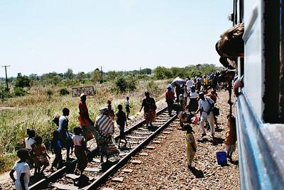 Tazara train - 10h journey to Ifakara