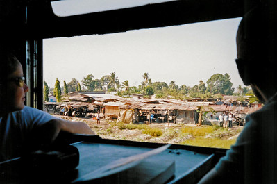 Tazara train - it's a 10h journey to Ifakara