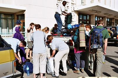 Arrival in Dar-es-Salaam