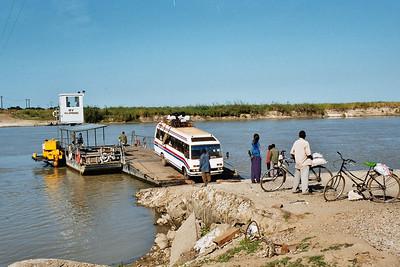 Kilombero river ferry