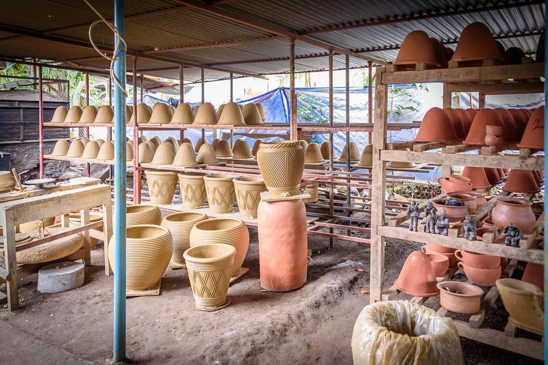 Ceramic water filters - storage area