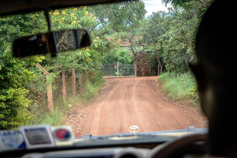 Approaching Ngorongoro Farm House Coffee Plantation