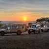 Sunrise at our Serengeti tented campsite