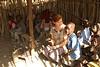 Escuela infantil en un poblado masai