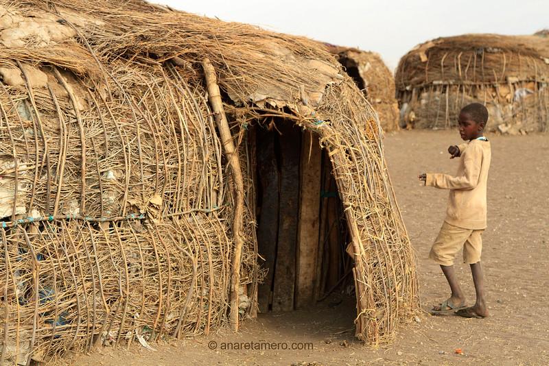 Tanzania puerta masai