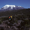 Trekking to the top of Mount Kilimanjaro