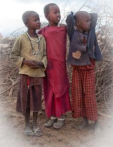 In a Maasai Bomo